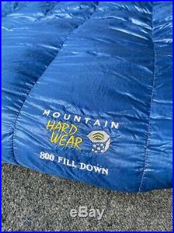 Mountain Hardware Phantom 32 Down Long Sleeping Bag 800 Fill Goose Ultralight