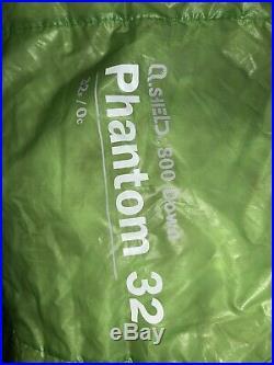 Mountain Hardware Phantom 32 Superlight 800fp Down Sleeping Bag