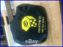 Mountain Hardware Phantom 45deg Down Sleeping Bag
