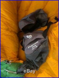 Mountain Hardware Phantom Flame Down Filled Sleeping Bag
