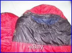 Mountain Hardwear -10 F Expandable Lamina Camping Backpacking Sleeping Bag Long