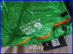 Mountain Hardwear 800fp Down Phantom Flame 15 Degrees Sleeping Bag Regular Left