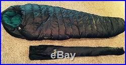 Mountain Hardwear Cheops 10 degree Sleeping Bag Down Gore DryLoft Long 775 Fill