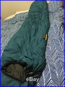 Mountain Hardwear Crazy Legs 20 deg Down Sleeping Bag Large Right Zip
