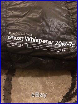 Mountain Hardwear Ghost Whisperer Sleeping Bag 20 Degree Regular