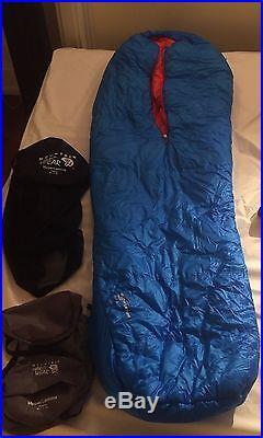 Mountain Hardwear HyperLamina 20F, regular, synthetic sleeping bag