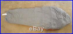 Mountain Hardwear Lamina -15 Thermic Micro Sleeping Bag Left Hand Zip Tiger Long