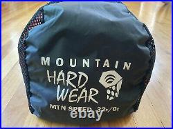 Mountain Hardwear Mountain Speed 32°F Regular Left Zip Sleeping Bag Ueli Steck