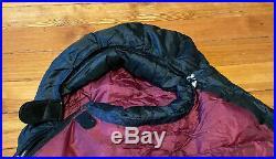 Mountain Hardwear Phantom 32 32°F / 0°C 800 Goose Down Sleeping Bag Regular Red
