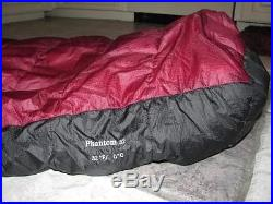 Mountain Hardwear Phantom 32 Down Sleeping Bag Regular RH Zipper
