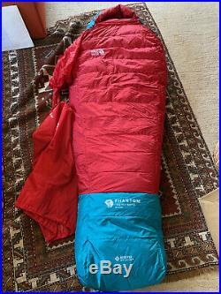 Mountain Hardwear Phantom -40 Gore-Tex 850 fill down sleeping bag NWT