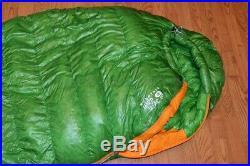 Mountain Hardwear Phantom Flame 15 degree Sleeping Bag 800 Down Fill