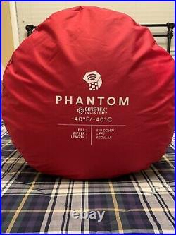 Mountain Hardwear Phantom Gore-Tex -40 F sleeping bag reg. Length NWT