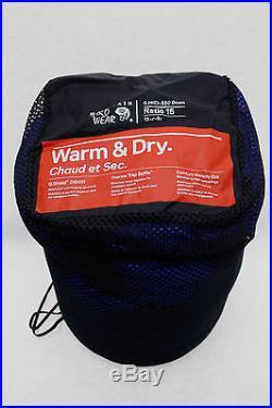 Mountain Hardwear Ratio 15 Sleeping Bag NEW! FREE SHIPPING