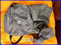 Mountain Hardwear Wraith -20F degree mountaineering sleeping bag R with RH zipper