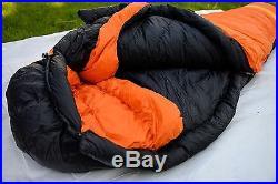 Mountain Hardwear Wraith SL -20F 800 fill down sleeping bag long right zipper