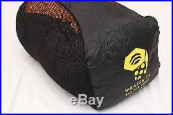 Mountain Hardwear Wraith SL -20 Down Sleeping Bag Conduit 800 Fill Orange Winter