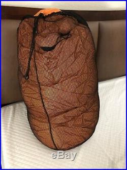 Mountain Hardwear down sleeping bag -20f King Tut with Crazy Legs and Gore Dryloft