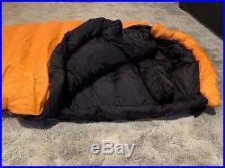 Mountain hardwear King Tut, -20, Gore Dryloft, Down Sleeping Bag, Mint