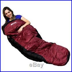Mummy Sleeping Bag Camping Hiking Warm Traveling Sleep Down Shaped Outdoor Tent