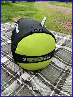 NEMO Forte 20 degree sleeping bag
