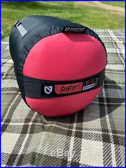 NEMO Riff 15 degree sleeping bag