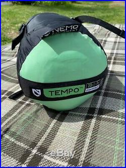 NEMO Tempo 20 degree sleeping bag