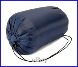 NEW ADULT FULL SIZE MUMMY STYLE CAMPING SCOUTING SLEEPING BAG WITH CARRYING CASE
