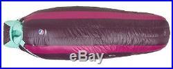 NEW Big Agnes Women's ETHEL 0 650 DownTek Sleeping Bag REGULAR Size LEFT Zip