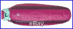 NEW Big Agnes Women's ROXY ANN 15 650 DownTek Sleeping Bag REGULAR Sz. LEFT Zip