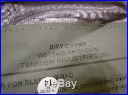 NEW IMSS 5pc Improved Modular Sleep System MSS USGI Sleeping Bag WithGore-Tex Bivy