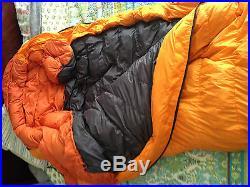 NEW MARMOT 10°F/-12°C MANTA DOWN SLEEPING BAG 650-fill