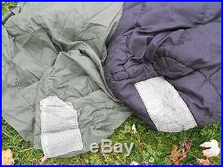 NEW Military MODULAR SLEEP SYSTEM 4pc set cold weather Sleeping bags