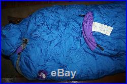 NEW NORTH FACE Goose Down Emergency Preparedness Sleeping Bag Equipment WARM