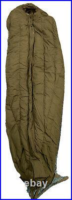 NEW US Military -20° Extreme Cold Weather ECW MUMMY SLEEPING BAG OD Green