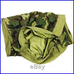 NIB! US Military MSS GORE-TEX Bivy Cover Woodland Camo Sleeping Bag Cover