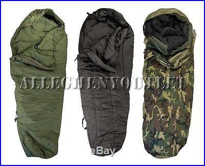 NICE 3 Part Military -40° Modular Sleeping Bag Sleep System w/ Goretex Bivy