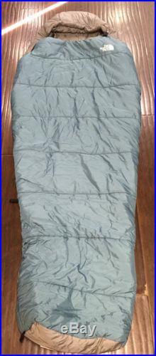 NWOT! The North Face Wasatch 20 Degree Sleeping Bag Regular Unisex Agean Blue