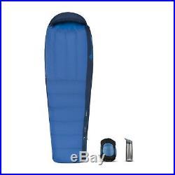 NWT Sea to Summit Trek TkII Long Sleeping Bag 18 Degree Backpacking 650 Fill