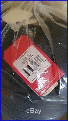 NWT! The North Face Blue Kazoo 15 Degrees Down Waterproof Sleeping Bag, Regular