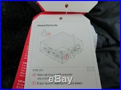 NWT Unisex Regular RH The North Face TNF Green Kazoo Down 0F / -18C Sleeping Bag