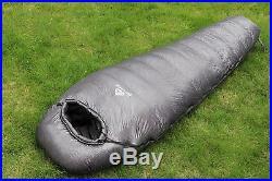 NatureFun All Season Mummy Sleeping Bag, Ultralight Goose Down Waterproof for