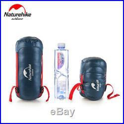 Naturehike Ultralight Goose Envelope Sleeping Bag Waterproof Camping Hiking Warm