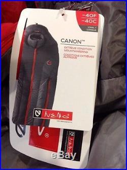 Nemo Canyon -40 Degree Sleeping Bag Long 850 Fill NEW