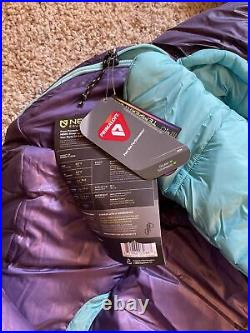 Nemo Forte Ultralight Synthetic Sleeping Bag, 20 Degree, Womens Long, NEW withTAGS