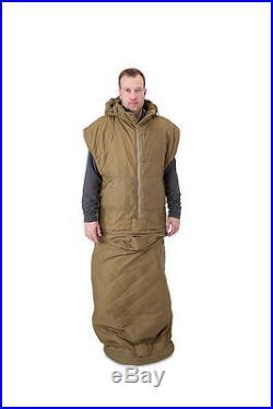 Nemo Shield Targa SE Tactical Mobility Sleeping Bag Coyote Brown USA Made