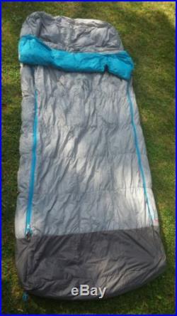Nemo Strato Loft 25 Sleeping Bag Aluminum / Riptide