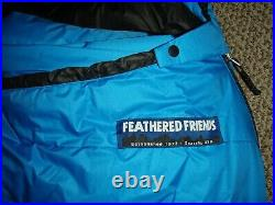 New Feathered Friends Snowbunting EX 0 Sleeping Bag 6-0 Retail $639