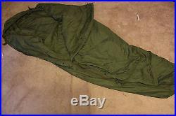 New GREEN PATROL SLEEPING BAG For Modular Sleep System U. S Military NICE