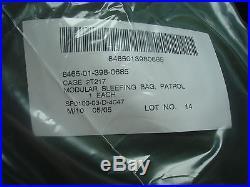 New! Green Patrol Sleeping Bag! Military MSS Modular Sleep System Army